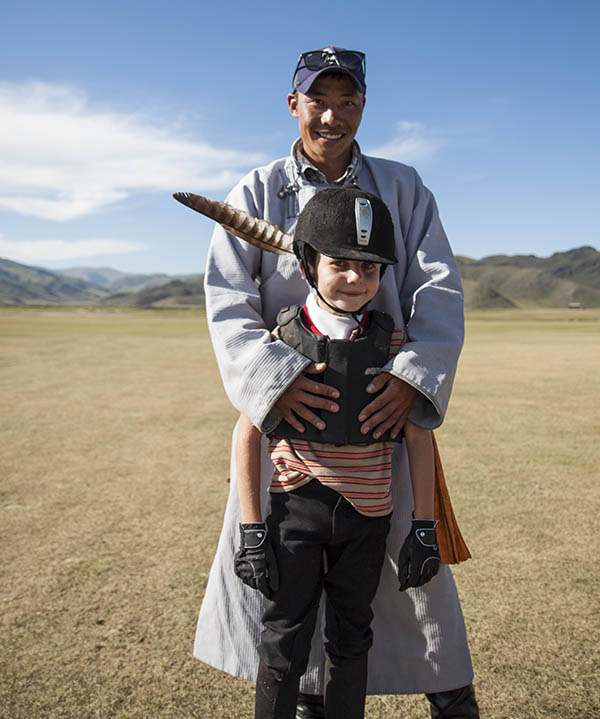 Family tour in Mongolia with children