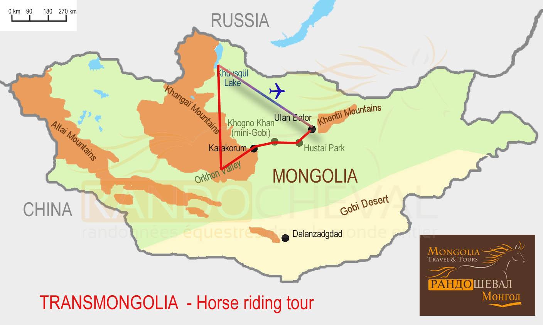 TransMongolia, Cross Mongolia on horseback, a great horse riding adventure - 20 days horse ...